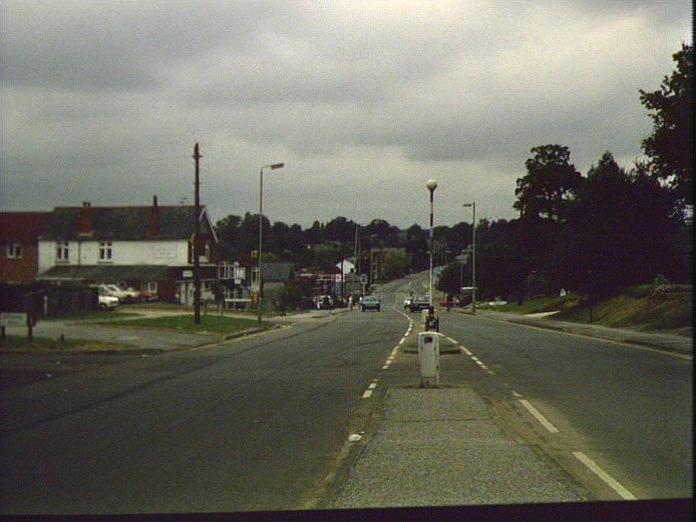 The A3 at Cowplain.-1986