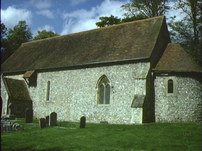 St.Botolphs Church Swyncombe-1986