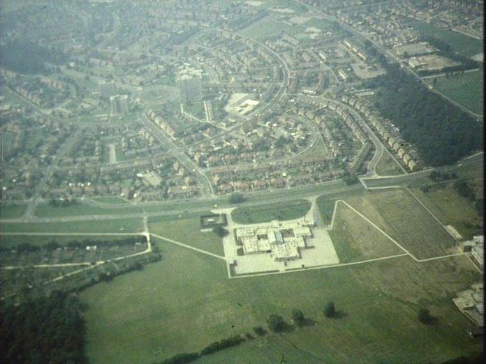 Aerial view of Intake Estate-1986