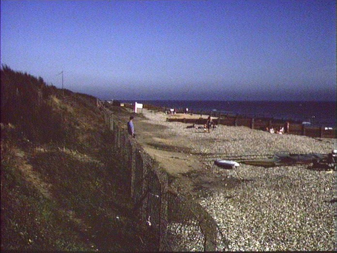BEACH SCENE AT WEST WITTERING-1986