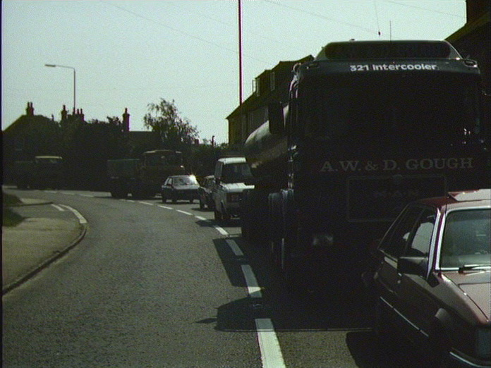 Fishbourne-the A27 Trunk Road.-1986