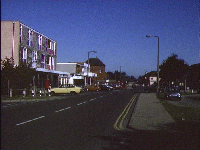 Main Street of East Wittering-1986