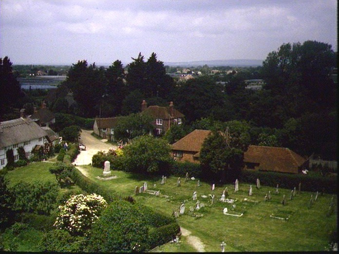 Overall view from church tower-1986