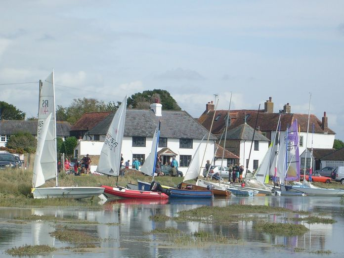 Pagham Harbour Boats-2011