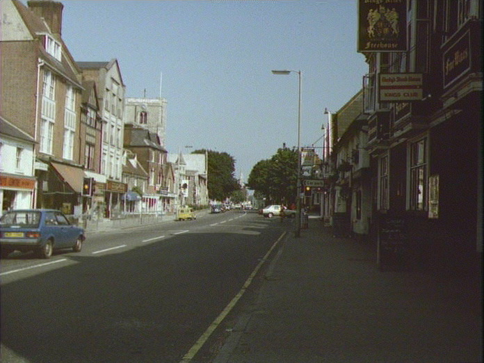 BERKHAMSTED HIGH STREET-1986
