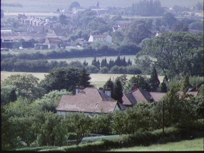 Waddington from Lincoln Edge.-1986