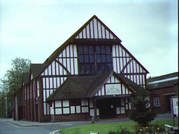 Cranleigh Village Hall.-1986