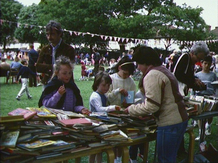 Kingfield school June Fayre-1986