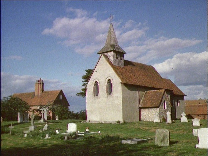 The Church at Wisley.-1986
