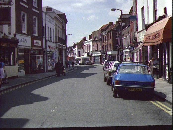 Guildford Street, Chertsey-1986