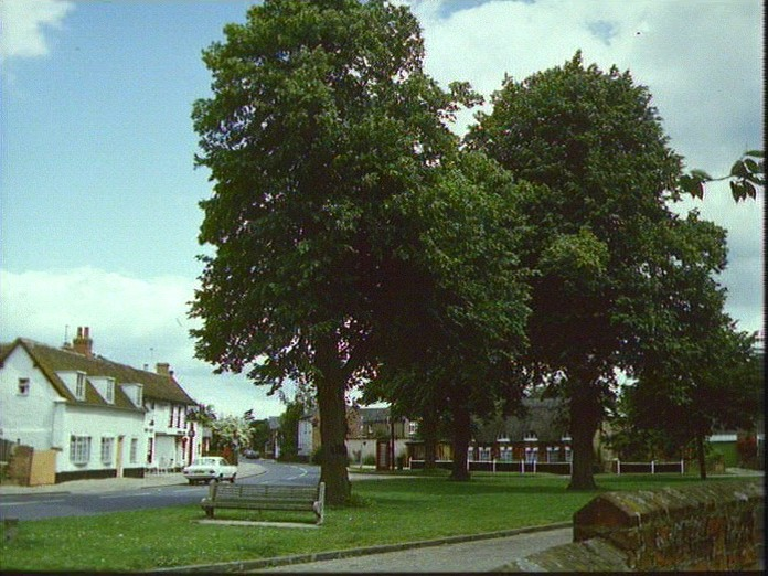 The Village Green in Clophill.-1986