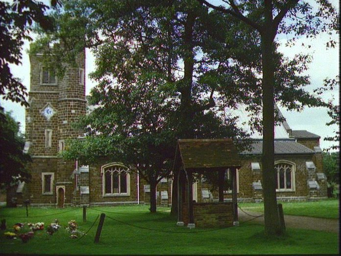 St.Mary's Church, Clophill.-1986