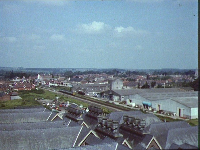 A VIEW OF SLEAFORD LOOKING N.W-1986