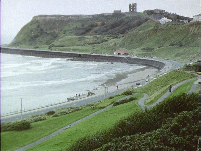 VIEW E. TO SCARBOROUGH CASTLE-1986
