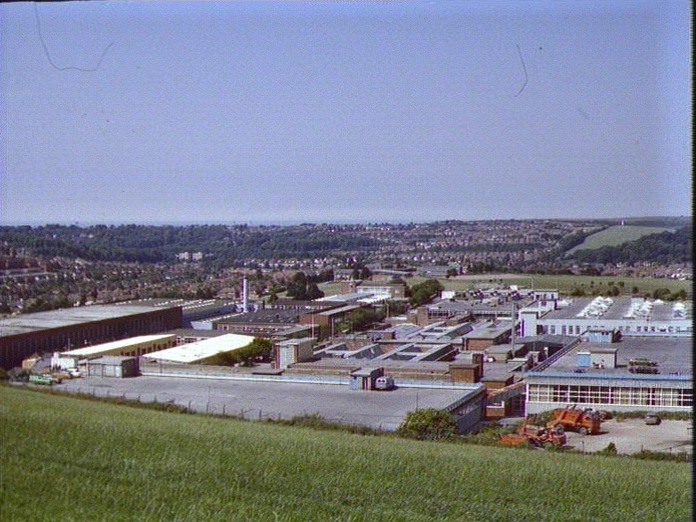 View of Patcham looking West-1986