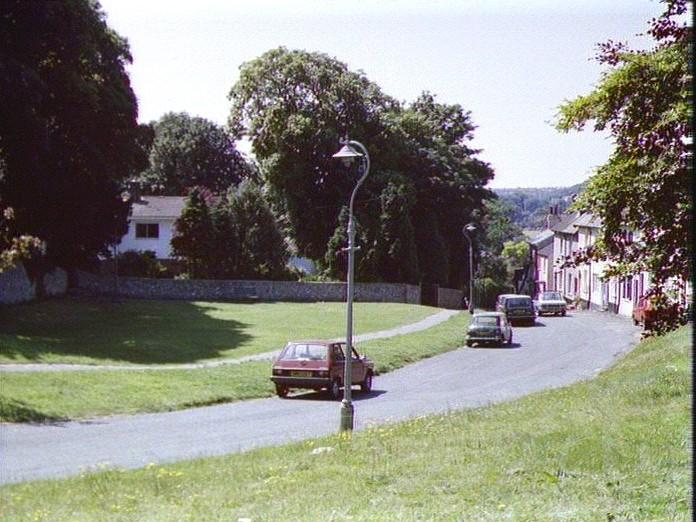View down Church Hill-1986