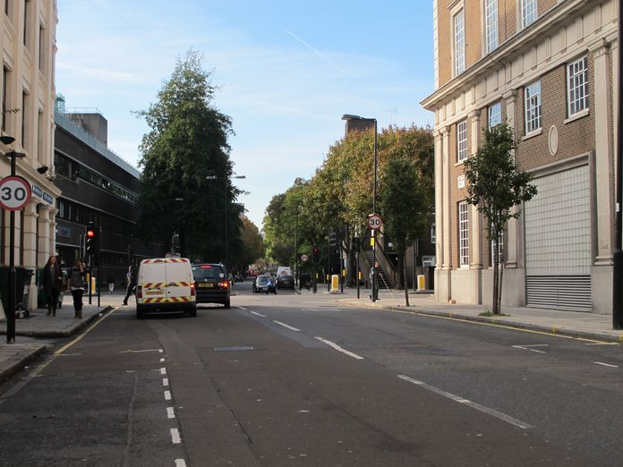 Moreland Street, looking west-2011