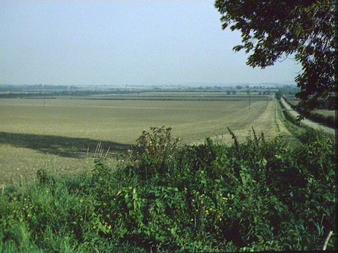 View from Millow Hall Farm.-1986