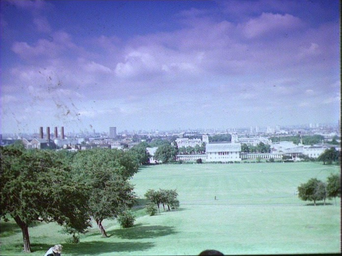 VIEW OF GREENWICH PARK-1986