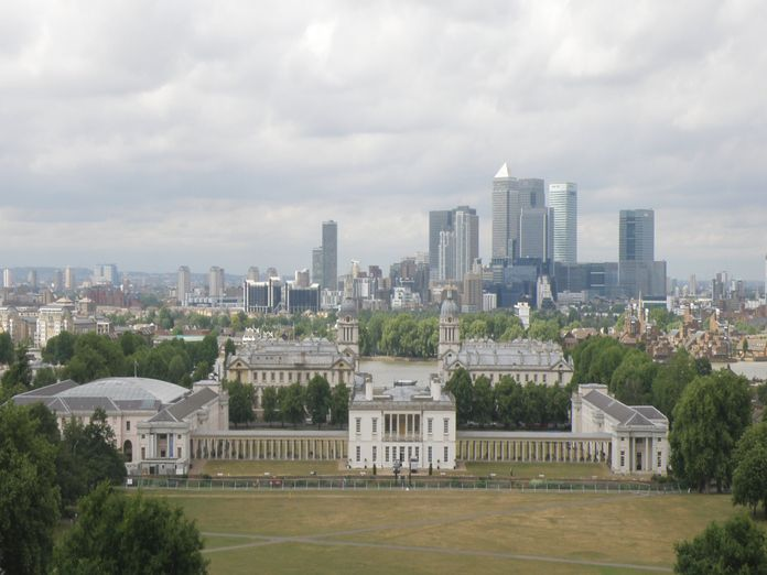 View across Greenwich Park-2011