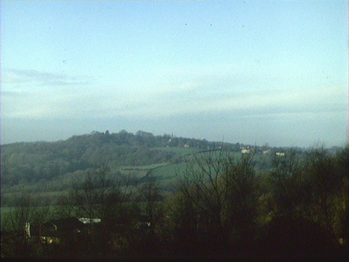 Ide Hill from Brasted Chart.-1986