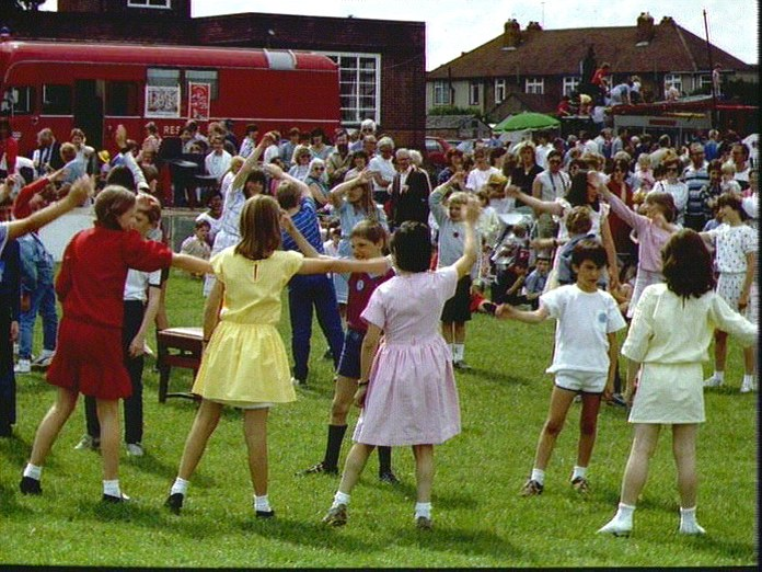 Annual School Fete in Bexley-1986
