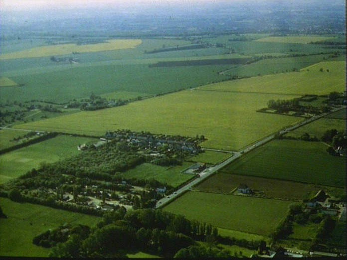 THORNWOOD/RYE HILL FROM AIR-1986