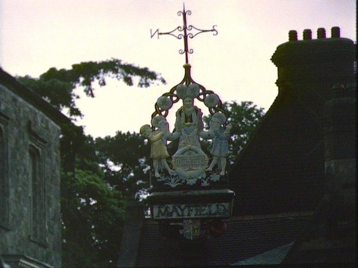 Mayfield Village Sign.-1986