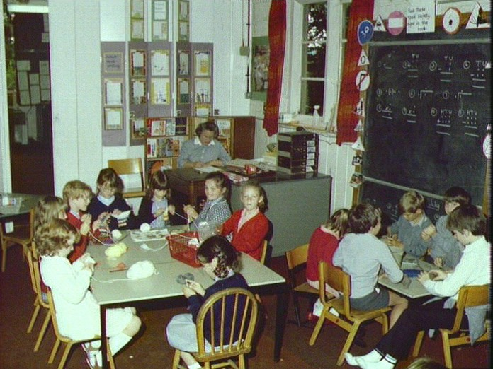 Village School Craft Lesson-1986