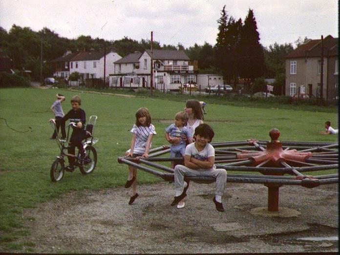 Children at play.-1986