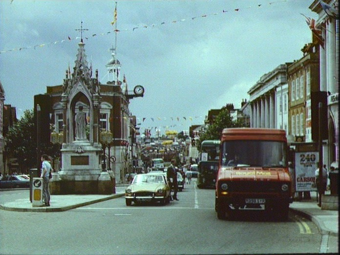 FORMER MARKET PLACE, MAIDSTONE-1986