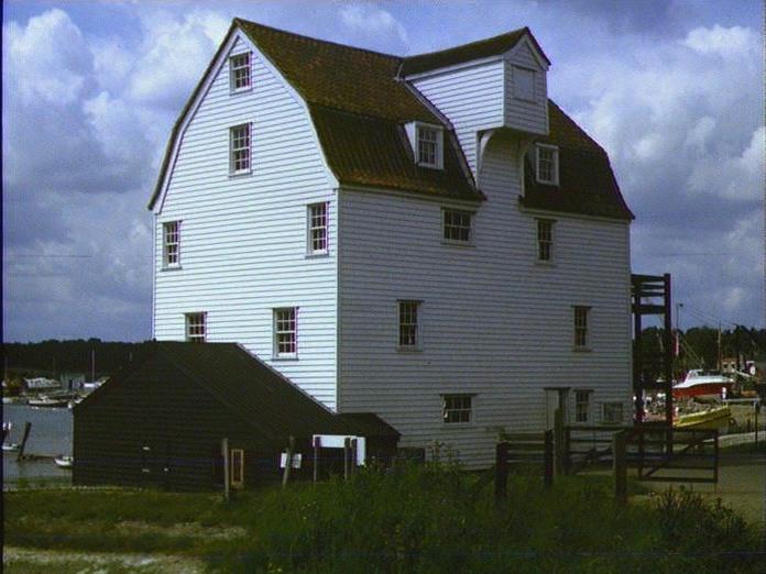 Tide Mill at Woodbridge-1986