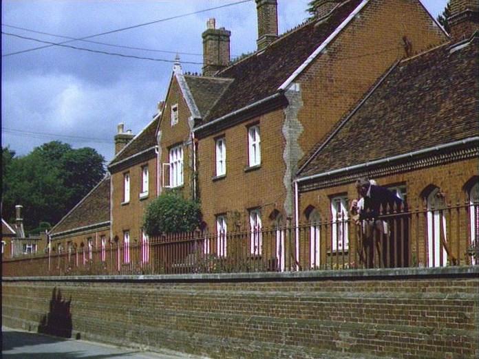 Seckford Almshouses Woodbridge-1986