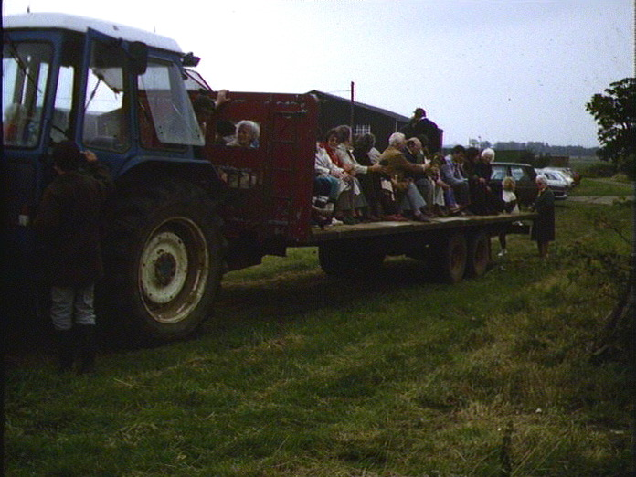 EVENTS - LOCAL TRACTOR TOUR-1986