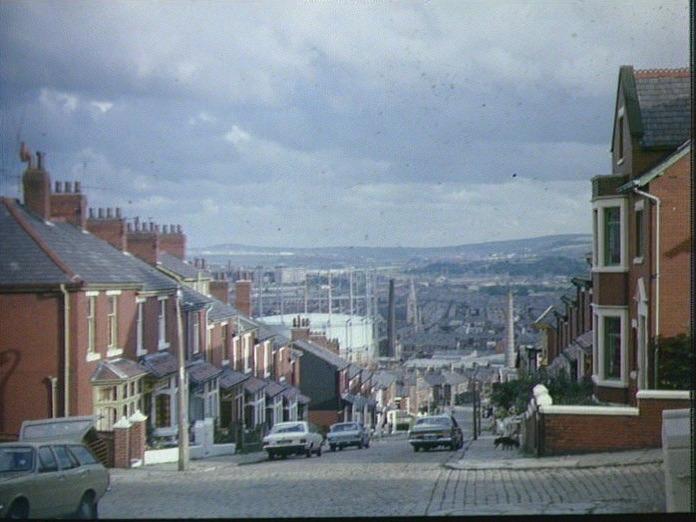 The site of Blackburn.