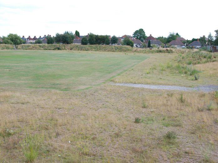 Derelict Cannock Festival Stadium. August 2011