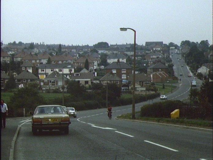 Codnor from Cross Hill.