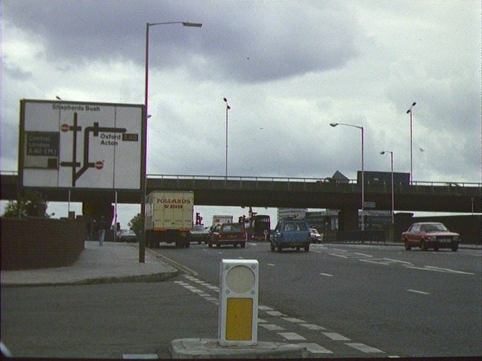 The Westway North Hammersmith.