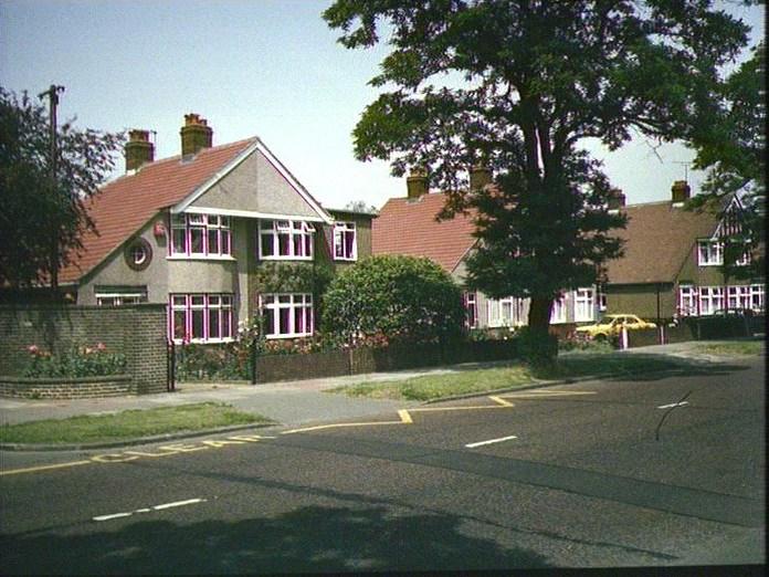 Semi-detached houses,Hurst Rd.