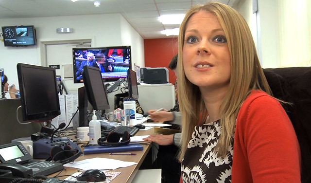 Hayley Brewer, News Editor at BBC Radio York