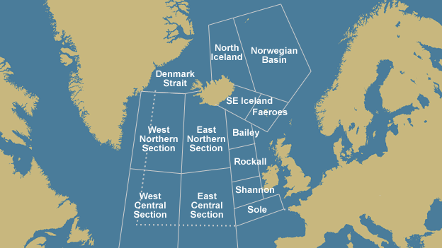 Map of high seas locations